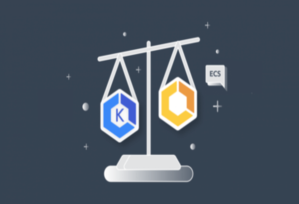 Comparing two services of Kubernetes vs ECS