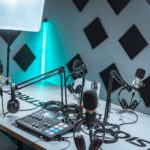 podcast audio studio